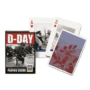 D-Day set of 52 + jokers playing cards    (gib)